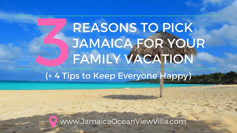 Jamaica for multigenerational travel tips