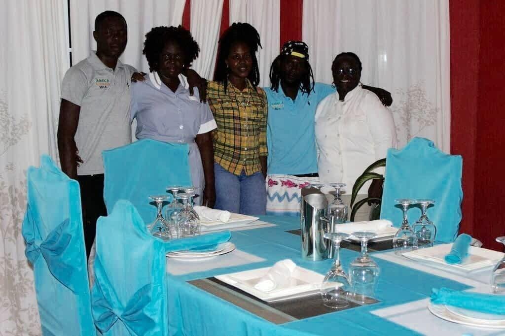 Full staffed Jamaica villa