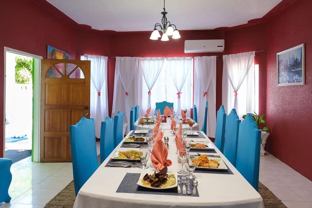 Jamaica villa all inclusive dining experience