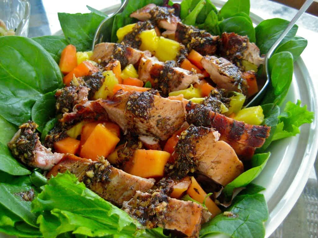 Jamaica Grilled chilcken salad