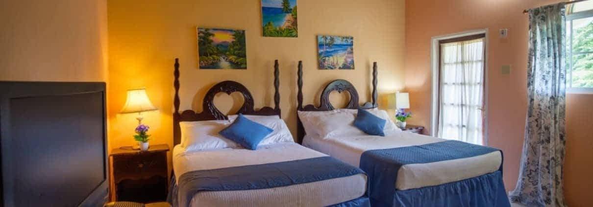 Jamaica Villa Double Bedroom