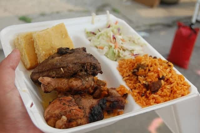Jamaica delicious jerk chicken