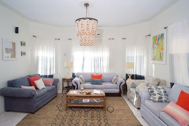 Jamaica Villa Living Room