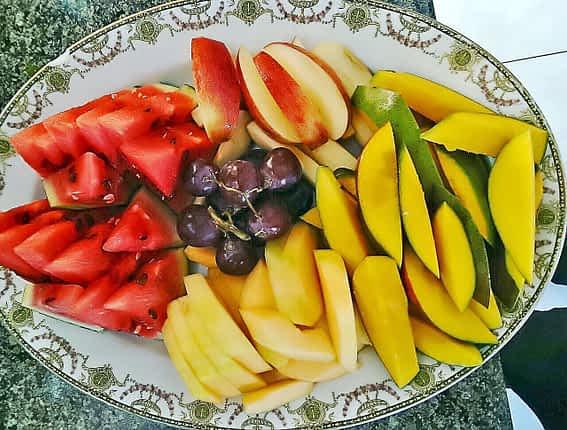 Jamaica Villa Serenity Fruit Salad