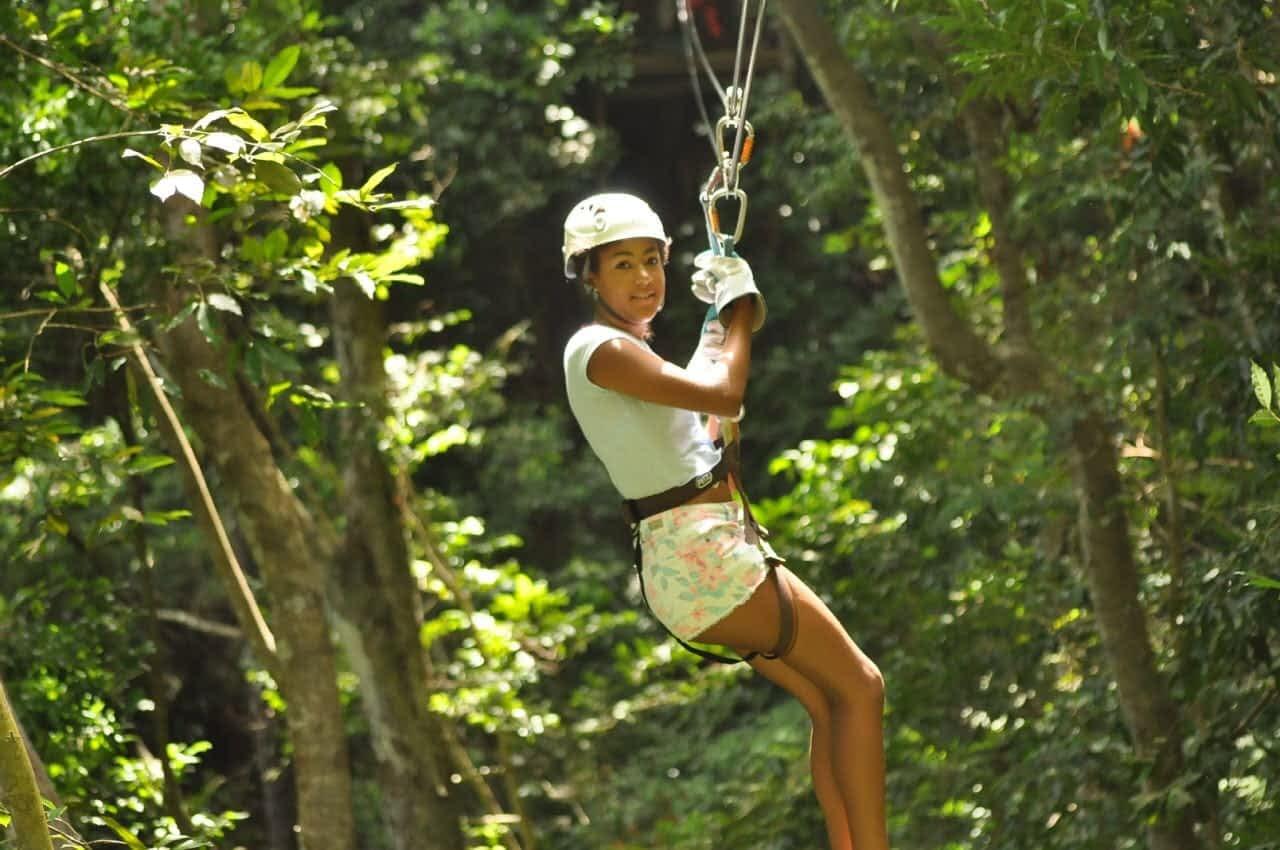 Ziplining In Ocho Rios Jamaica