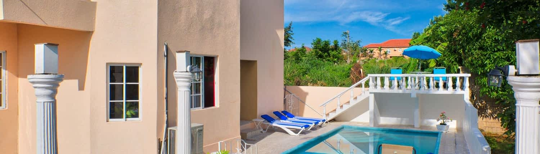 Private swimming pool at your villa