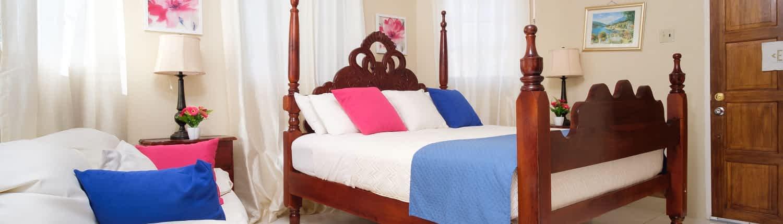 Jamaica villa kingsize bedrooms