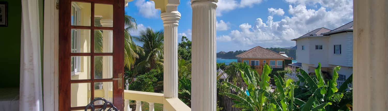 Private Balcony Villa Serentiy Jamaica