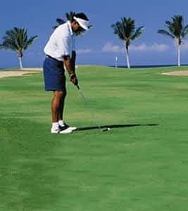 Golfing in Jamaica