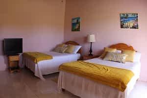 Jamaica Ocean View Villa Bedroom