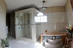 Jamaica Ocean View Villa Master Suite Luxury bathroom