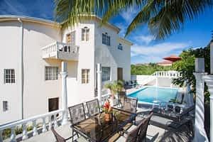 Jamaica villa private pool