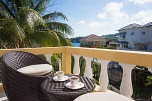 Jamaica Ocean View Villa View