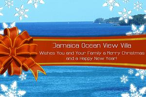 Merry-Christmas-from-Jamaica-Ocean-View-Villa