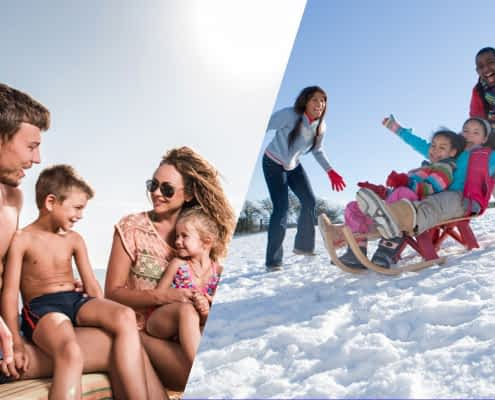 Winter vacation in Jamaica with children