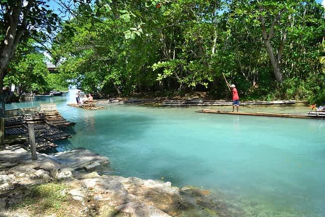 Rafting in Ocho Rios Jamaica