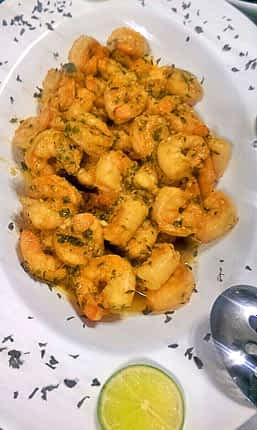 Shrimp Dish Jamaica Ocho Rios