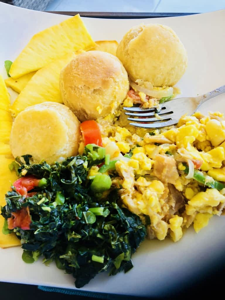 Jamaican Style Breakfast