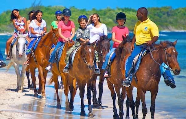 Horse back ridding Jamaica