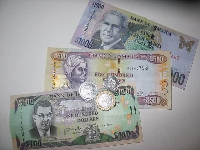 Jamaica vacation spent money