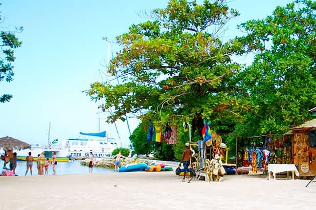 Jamaica vacation at Villa Serenity Guests Beach