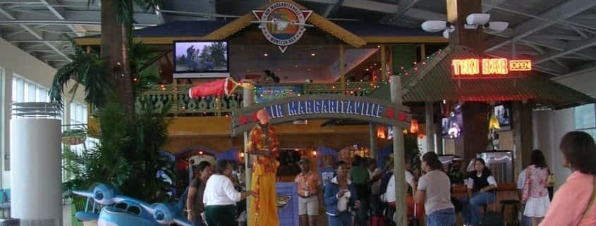Margarittaville beach bar in Ocho Rios