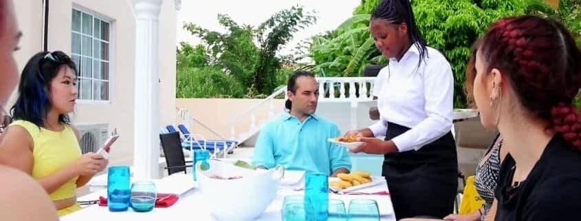Butler service at Villas in Ocho Rios Jamaica
