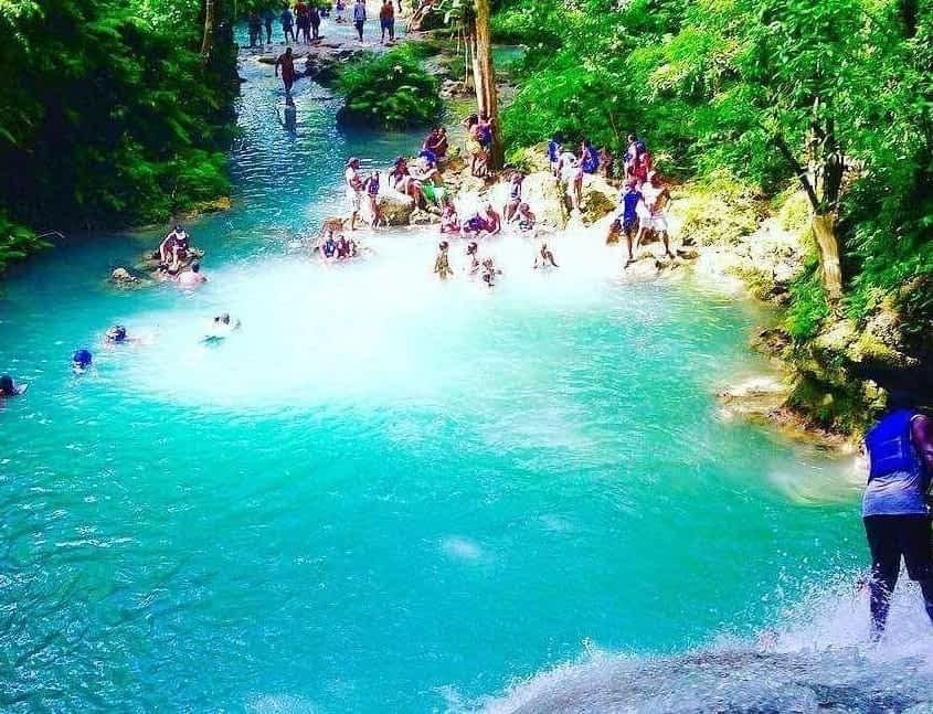 Blue Hole Falls Ocho Rios
