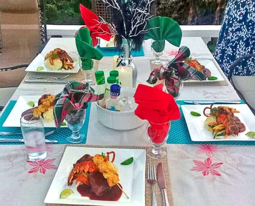 Jamaica villas with dining options