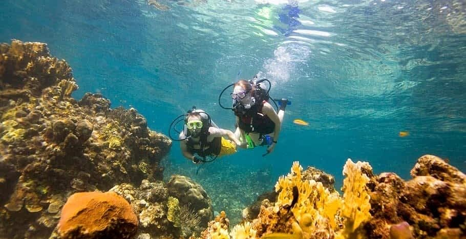 Scuba diving in Ocho Rios
