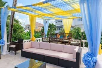 Jamaica villa with cabana by pool